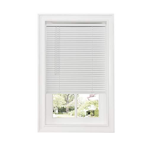 "Achim Home Furnishings DSG234WH06 Cordless GII Deluxe Sundown 1"" Room Darkening Mini Blind, 34"" x 64"", White"