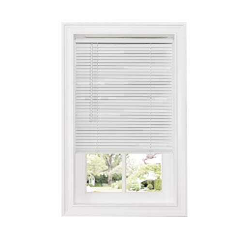 Achim Home Furnishings Cordless GII Deluxe Sundown 1' Room Darkening Mini Blind, 34' x 64', White