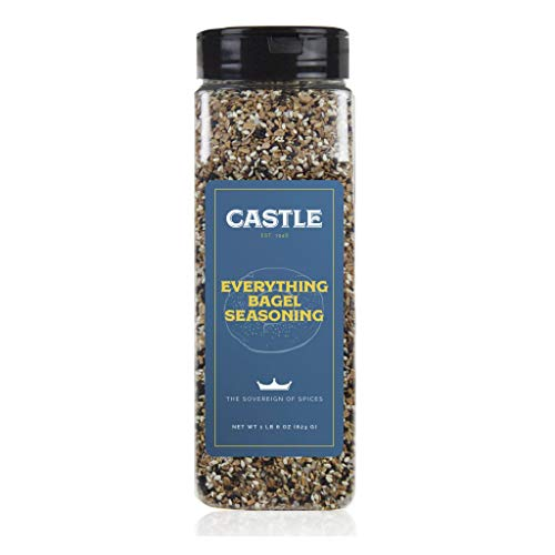 Castle Foods Everything Bagel Seasoning, 22 Ounce