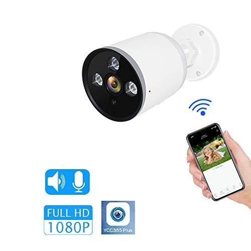 WQYRLJ 3MP Outdoor Camera Waterdichte Draadloze Bedraad Smart IP Camera Geluid Detectie Wifi Beveiligingscamera voor Thuis Huisdier/Oudere/Baby Monitor