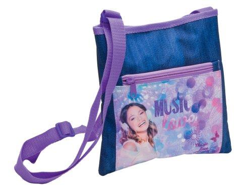 Violetta 119258 - Borsa a Tracolla - Jeans 15X4X18 Cm