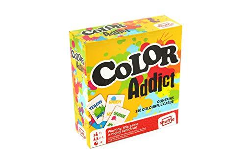 Cartamundi Color Addict Card Game Box Cartamundi 108441927 Color Addict Kartenspiel (Englische Version) Mehrfarbig