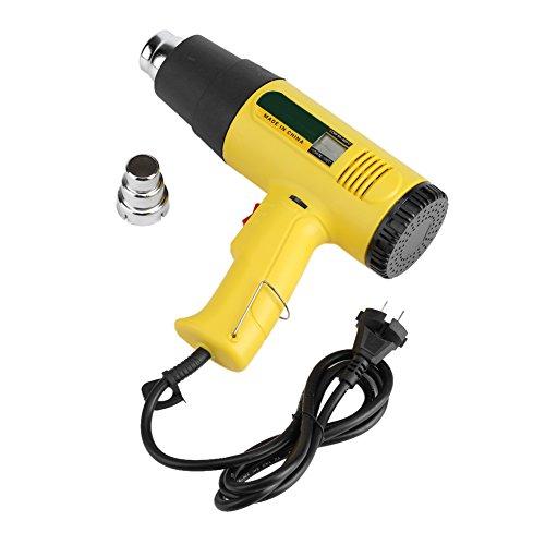 Ajuste de temperatura Soplador de pistola de calor de aire caliente eléctrico...