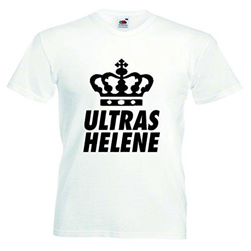 Herren T-Shirt Helene Motiv02 T-Shirt Weiss XL