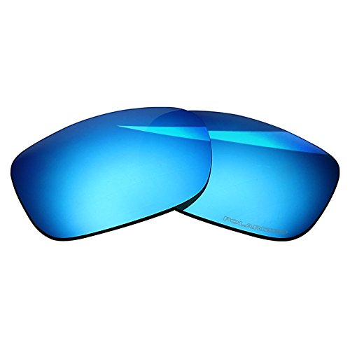 BlazerBuck Lentes de repuesto polarizadas antisal para Oakley TwoFace OO9189, Azul hielo polarizado.,