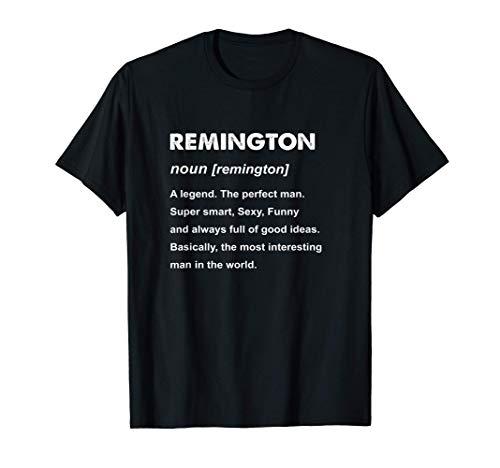 Mens Remington Name T-Shirt