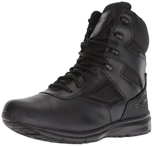 Bates Herren RAIDE Waterproof Side Zip Leder Black Stiefel 43.5 EU