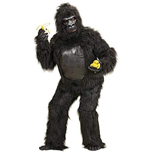 Aptafêtes - CS924489 - Costume - Peluche Gentil Gorille - Taille M/L