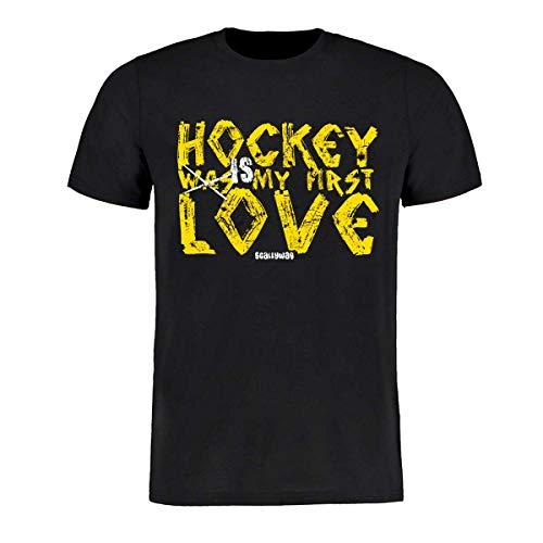 Scallywag® Eishockey T-Shirt First Love Hockey I Größen XS - 3XL I A BRAYCE® Collaboration (Eishockey Ausrüstung) (M)