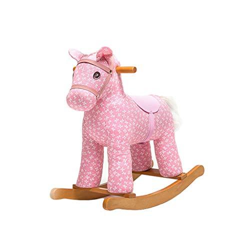 QIQIDEDIAN Rocking Horse Knight Little Trojaanse kind schudden paarden schommelstoel baby speelgoed cadeau