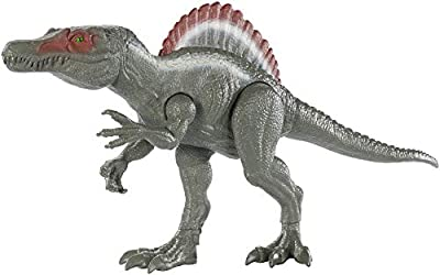 Jurassic World Big Action Spinosaurus Figure, 12-inch from Mattel