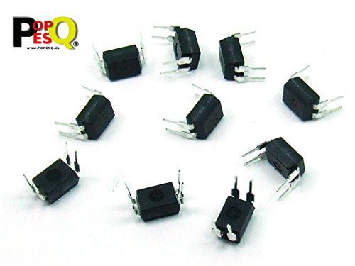 POPESQ® - 10 STK. / pcs. x PC817 Optokoppler/Optocoupler #A1840