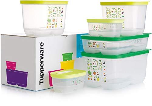 Tupperware - Juego de 6 recipientes herméticos para ahorrar alimentos