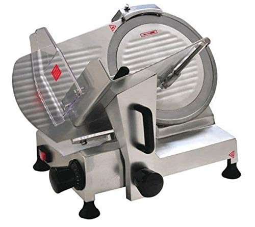 Davlex Commercial Electric Meat Slicer 220mm 8 Inch Blade and Sharpening Stone