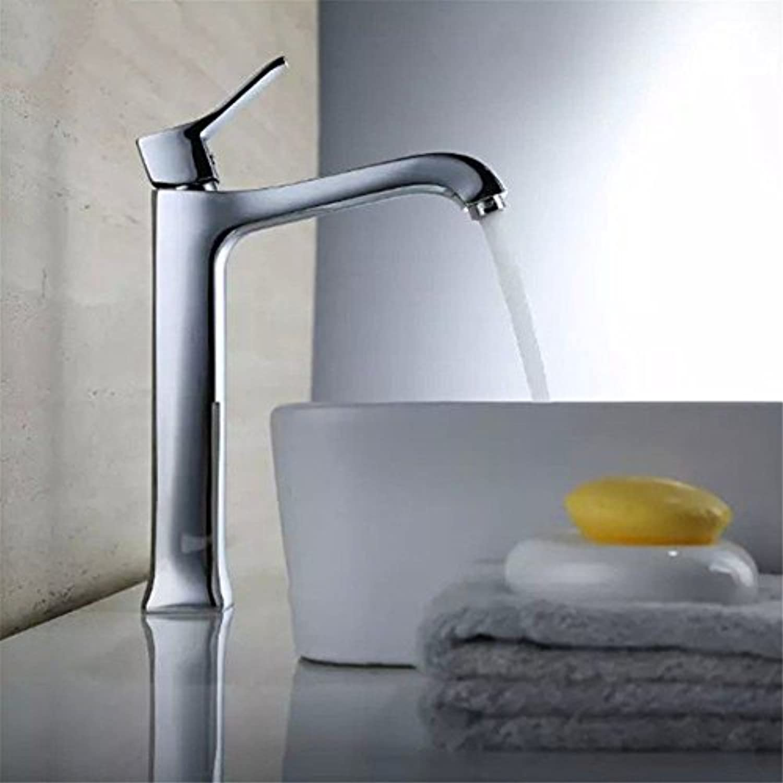 NewBorn Faucet Wasserhhne Warmes und Kaltes Wasser groe Qualitt der Verkupferung Square Leitungswasser Hohe Home Single-Console Becken Ein Wasser Leitungswasser