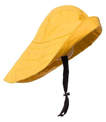 Modas Südwester - klassischer Regenhut, Farbe:gelb, Größe:M