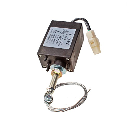 Mover Parts Diesel Engine Flame Out Device Engine Stop Solenoid 12V XHQ-PT XHQPT12