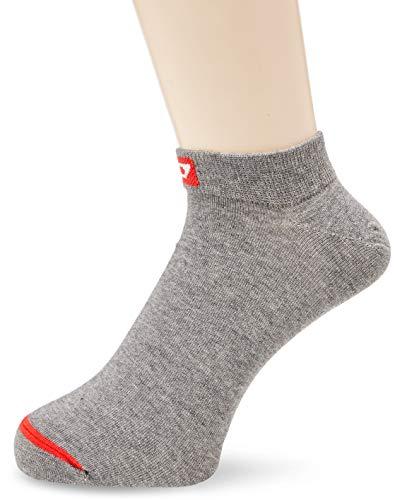 Diesel Herren SKM Patterned Ankle Socken, Dunkelgrau gemischt, Medium