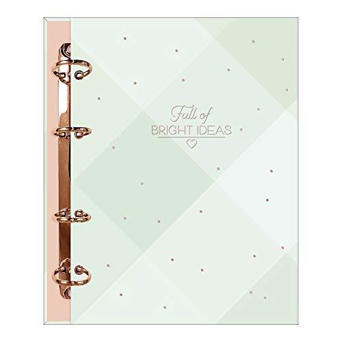 Caderno Argolado Cartonado Colegial, Tilibra, Soho, 310301, 17.7x24cm, Verde Claro, 80 Folhas
