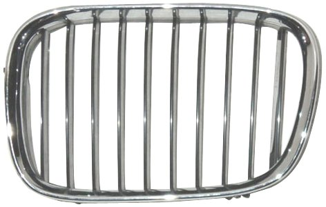 OE Replacement BMW 528/540 Driver Side Grille Assembly (Partslink Number BM1200117)