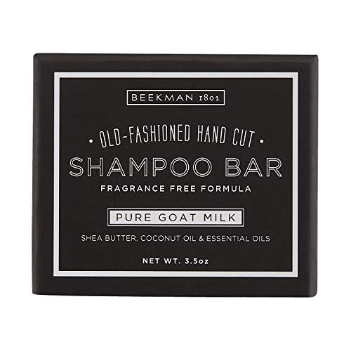 Beekman 1802 - Shampoo Bar - Pure Goat Milk - Nutrient-Rich Goat Milk Hair Cleansing Bar - Cruelty-Free Bodycare - 3.5 oz