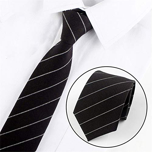 xqzs Ancho de Corbata de algodón Vestido de 8 cm Corbata Casual de ...