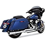 Vance and Hines Pro Pipe - Chrome - 2017 and Newer Harley Davidson Touring.