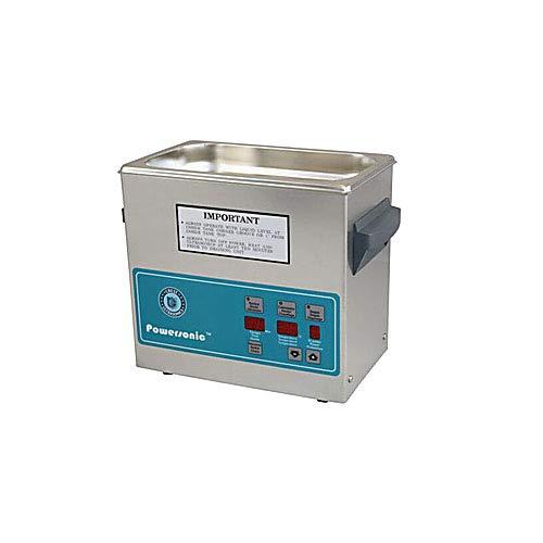 Crest Ultrasonics 0230PH045-2 Model P230 Table Top Cleaner, Digital Timer/Heat, 0.75 Gallon Volume, 45 kHz/230V