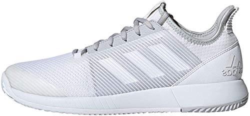 Adidas Defiant Bounce 2 M, Zapatillas de Tenis Hombre, Multicolor (Ftwbla/Ftwbla/Grpulg 000), 47 1/3 EU