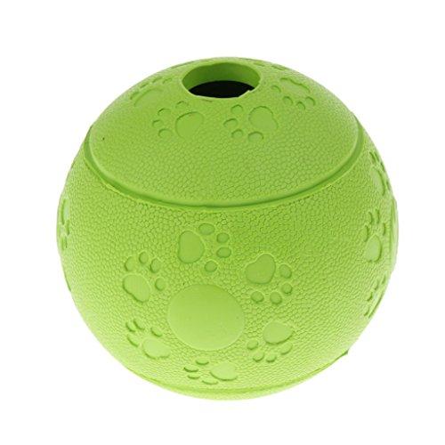 LOVIVER Robuster Hunde Gummiball Unkaputtbarer Hundeball Hundespielball - Grün