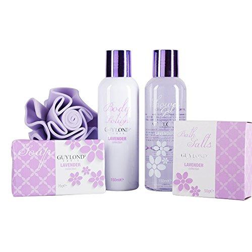 Guylond Lavender Collection Square Bath Set de bain 420 g