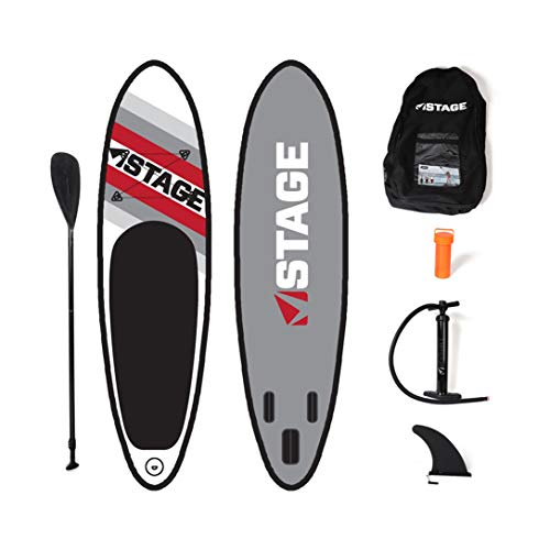 STAGE Junior SUP Inflatable Stand Up Paddle Board for Kids, 8'