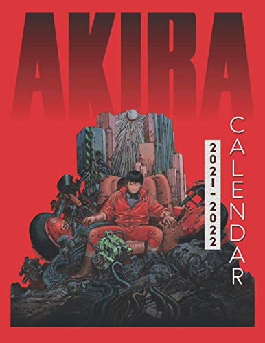 Akira Calendar 2021-2022: Anime 18-month Calendar 2021-2022 with 8.5x11 inches size -...