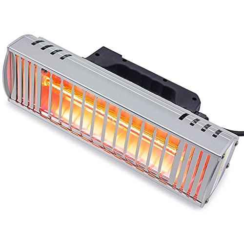 NC 1000 W Hornear Pintura infrarroja Curado Lámpara de onda corta Secador infrarrojo Calentador de lámpara de calefacción infrarroja del coche reparación del cuerpo Secador de pintura (220 V UE)