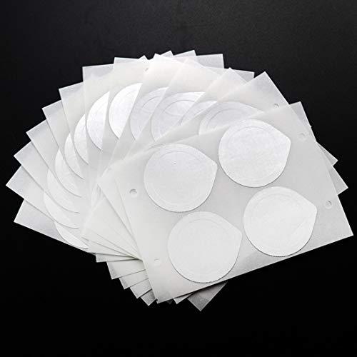 FineInno 100 Pezzi Aluminum Foil Coperchi Foil Lids Coperchi per Caffè Capsule Autoadesive Sigilli di Pellicola Compatibili con NESPRESSO INISSIA C40, NESPRESSO LATTISSIMA TOUCH F511, 1.5inch(37mm)