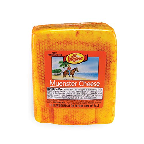 Evaxo Muenster Cheese 1 pk. / 2 lbs