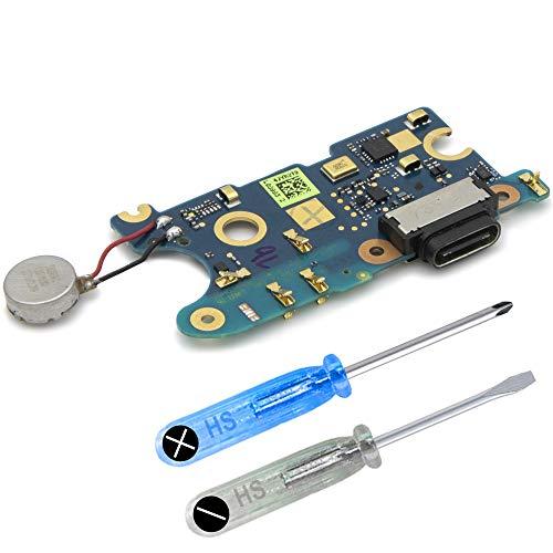 MMOBIEL Dock Connector USB Typ C 1.0 Lade Ladebuchse Charger Port kompatibel mit HTC U11 (5.5 inch) inkl Werkzeug
