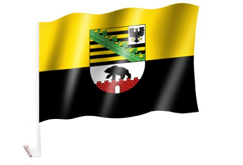 Autoflagge/Autofahne Sachsen-Anhalt