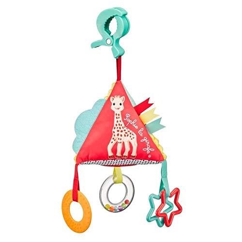 Sophie de Giraffe Piramide TriActivities educatief speelgoed, 1 stuks, meerkleurig
