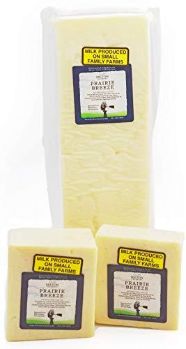 Cheddar Cheese - Prairie Breeze White Cheddar Cheese 8 oz.