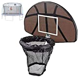 ZYQDRZ Universeller Trampolin-Basketballkorb, Kleiner, An Der Wand Montierter...