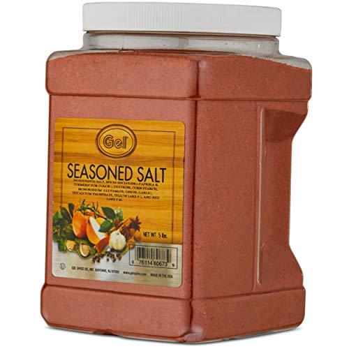 Gel Spice Seasoned Salt Food Service Size - 5LB (80oz)