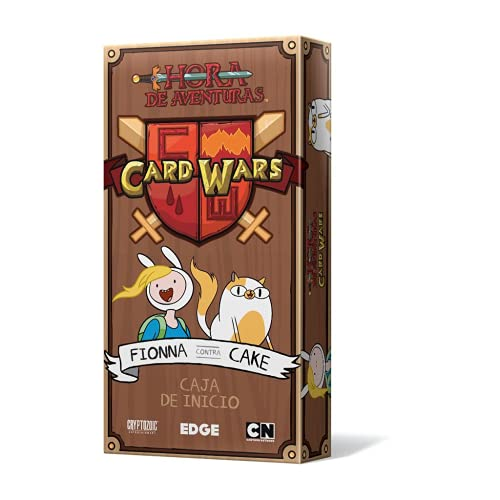 Edge Entertainment- Card Wars - Fionna vs Cake - Español, Color (EECRCW06)