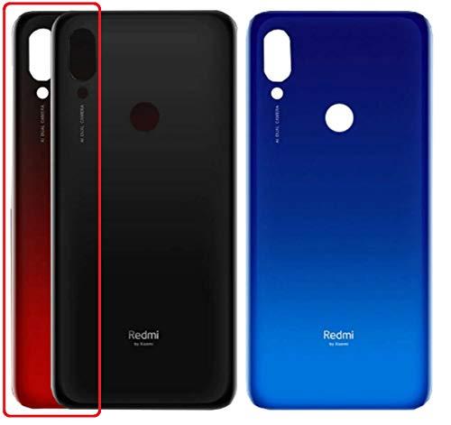 Desconocido Tapa Batería para Xiaomi Redmi 7, Red Rice 7, M1810F6LG, Trasero Cubierta Trasera (Rojo Lunar)