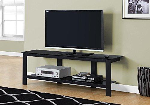 "Monarch TV Stand, 60"", Black"