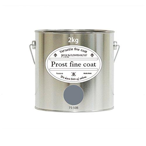 ペンキ 水性塗料 75-50B ロイヤルグレー 2kg/ 艶消し 壁 天井 壁紙 壁クロス ファインコート つや消し