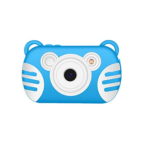 Qiandeng wasserdichte Kinder Digitalkamera Camking HD 1080P Unterwasser Videokamera for Kinder 18 MP 27 Zoll Schirm 8X Mini Cartoon Kinder Digital Videokamera Camcorder for Kinder Geschenke