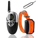 1000 Yard Rechargeable Waterproof LCD Shock Vibra Remote Pet Dog Training Collar