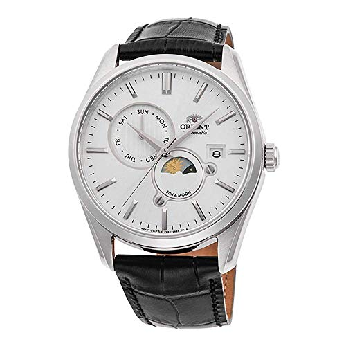 Orient Sun and Moon Automatic Silver Dial Men's Watch RA-AK0305S10B