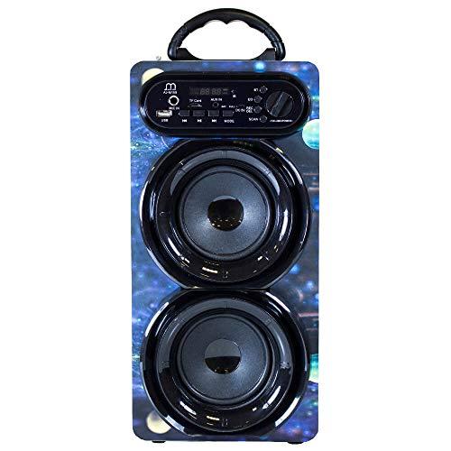 Music Life 30W Altavoz Karaoke Bluetooth Inalámbrico con Micrófono con USB Radio FM AUX TF Reproductor MP3 Portátil 111279-1